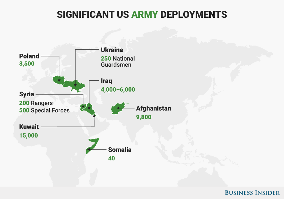 5 Maps That Show The Major Hotspots Where The US Military Is ...