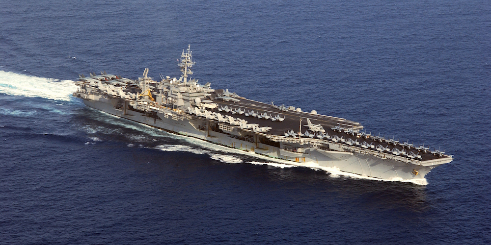 The Navy Is Considering Calling Up The USS Kitty Hawk Amid