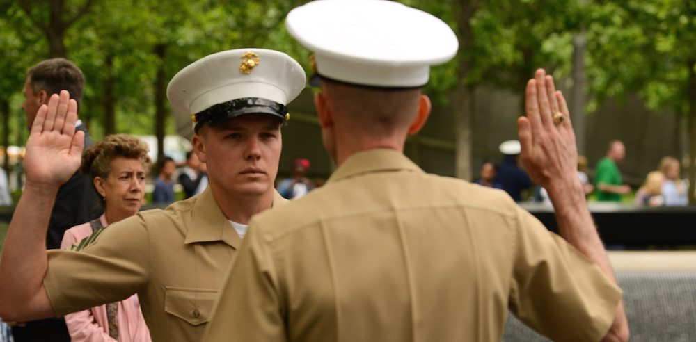 The Marine Corps Is Now Offering A Hefty New Enlistment
