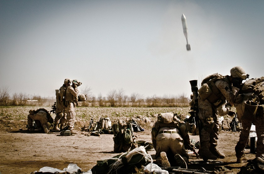 This Is The Mortar System That's Been Dropping Rounds On The