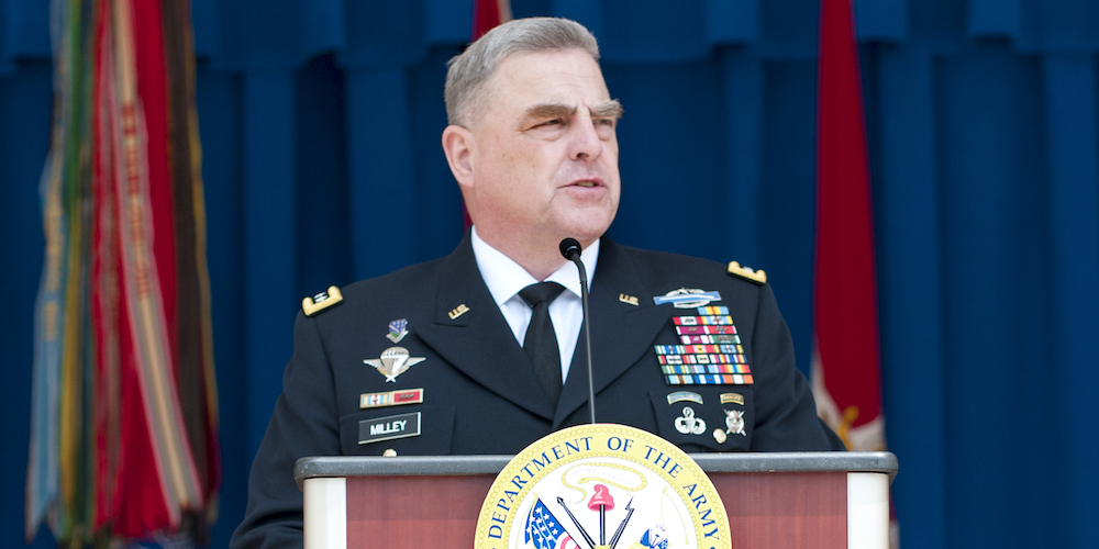 Army Chief Of Staff: It's 'Forever Train And Advise,' Not 'Forever