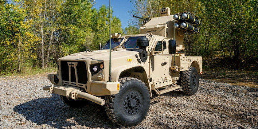 Oshkosh Defense Jltv >> Oshkosh Unveils Joint Light Tactical Vehicle With Lethal New