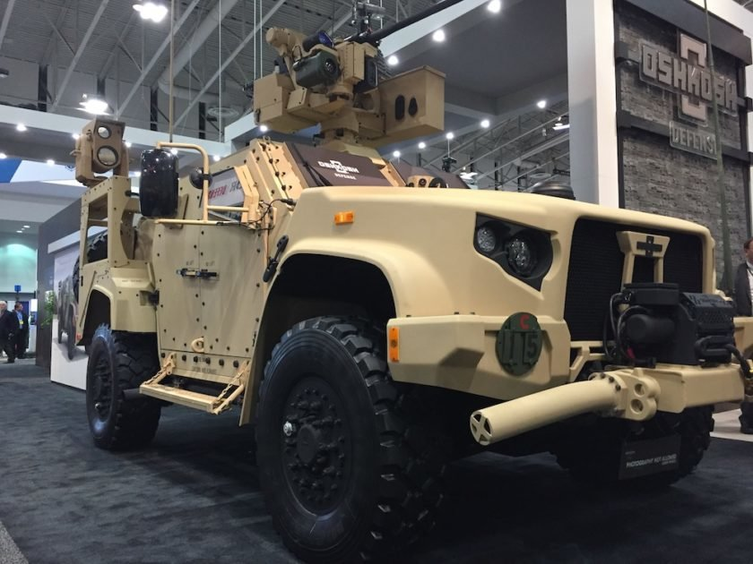 Oshkosh Unveils Joint Light Tactical Vehicle With Lethal ...