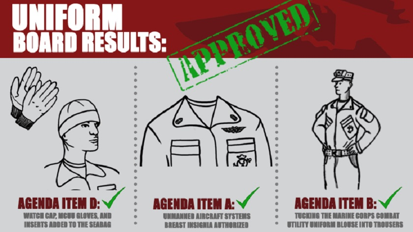 The Marine Corps Uniform Board Just Unveiled A Few Changes