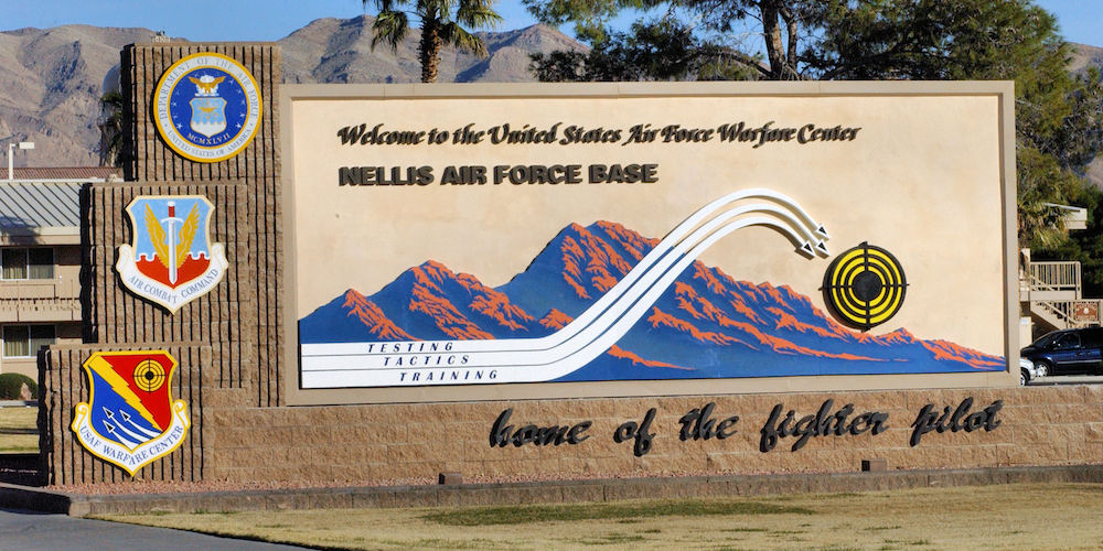 Nellis Air Force Base Had The Most Bizarre Security Breach