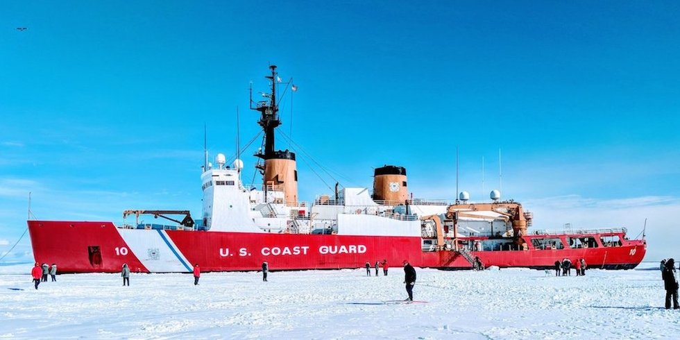 Coast Guard Passed On Arctic Exercise Amid Fears Its Garbage