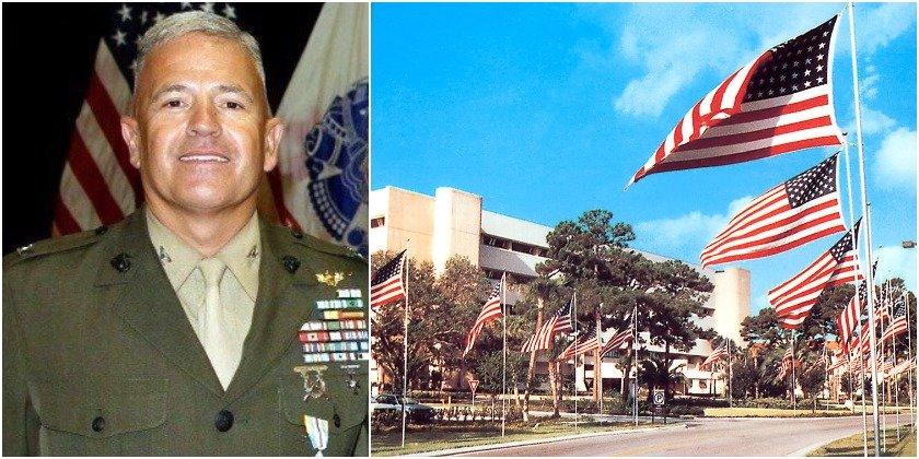 A Retired Marine Colonel Took His Life At A Florida VA  He's The 5th