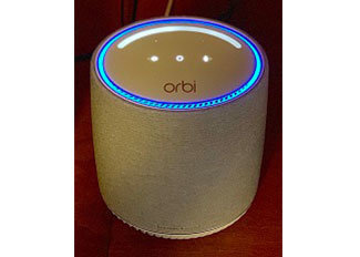 Netgear Orbi Voice Whole Home Mesh System with Harman Kardon Speaker
