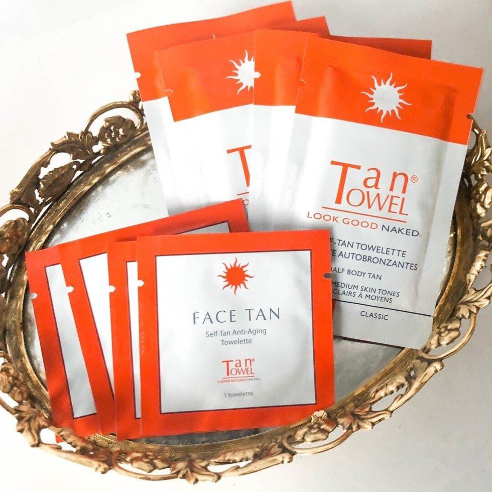 Tan Towel