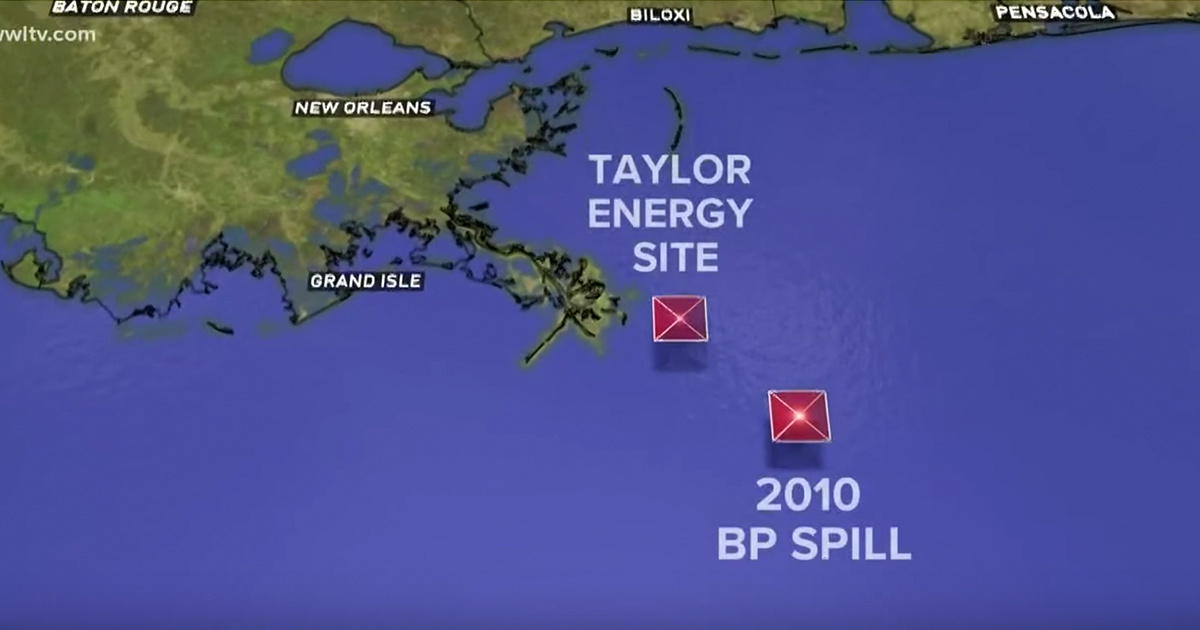 Oil Spill Continuing for 14 Years Could Become Nation s Worst Environmental Disaster