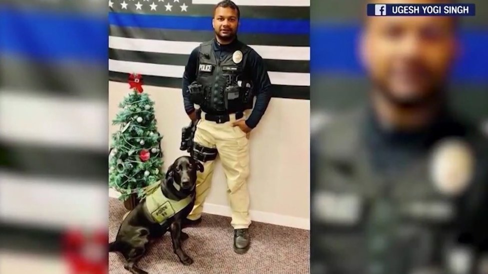 Here's what will happen with the K-9 partner of Ronil Singh, the police officer murdered by an illegal alien