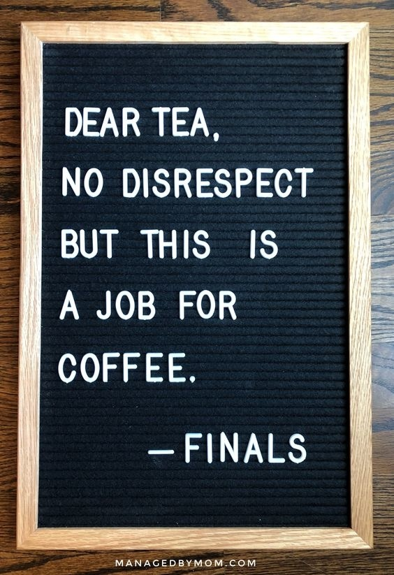 14 Letterboard Quotes That Are Relatable To Every College ...