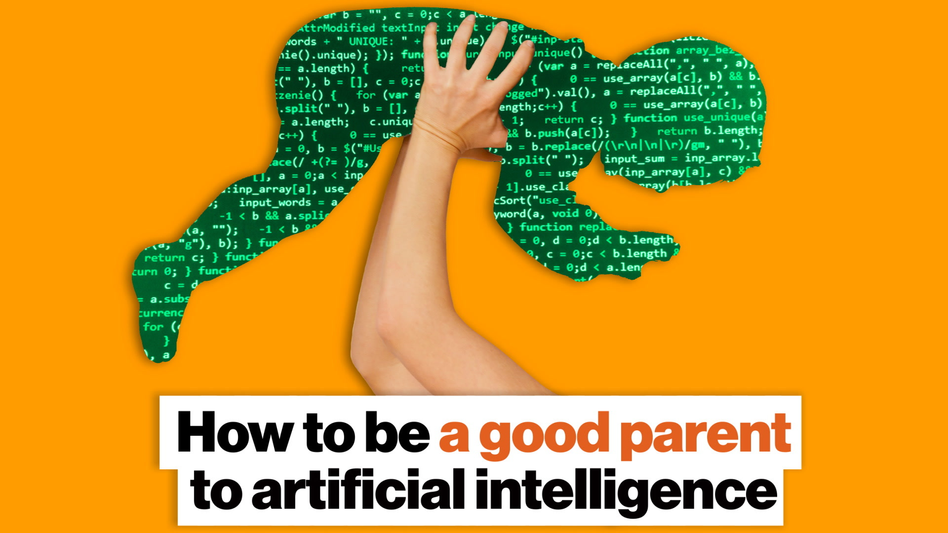 How to be a good parent to artificial intelligence