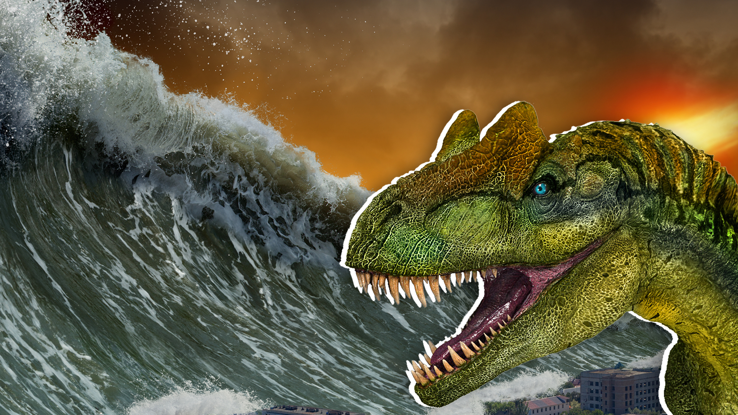 Asteroid that wiped out the dinosaurs caused a mile-high tsunami