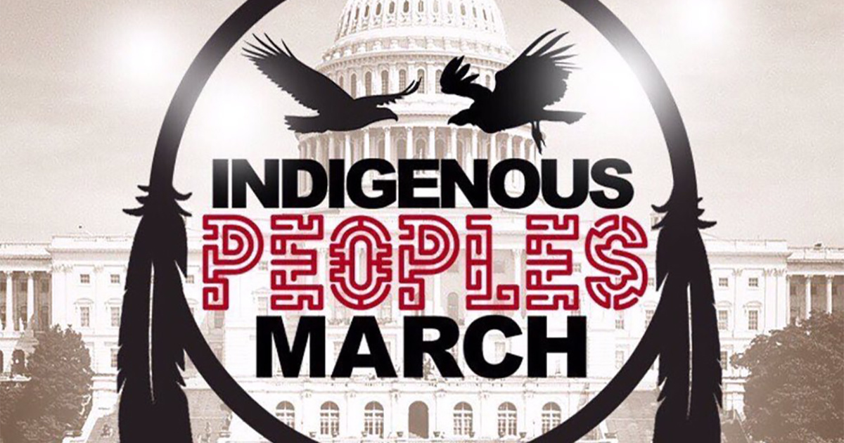photo image First-Ever Indigenous Peoples March Will Fight Against Injustices Faced Across the Globe
