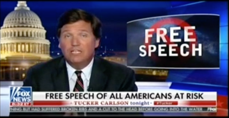 photo image Tucker Carlson: Can A Rich White Boy Even Get A Handout These Days?