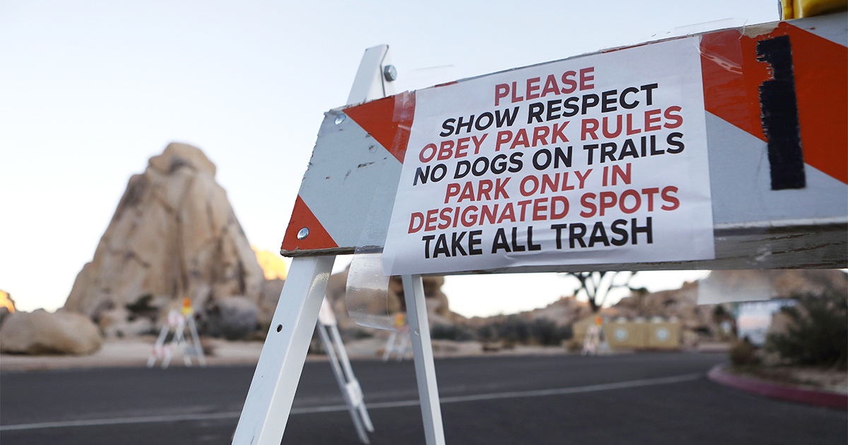 photo image Joshua Tree National Park Will Stay Open After All