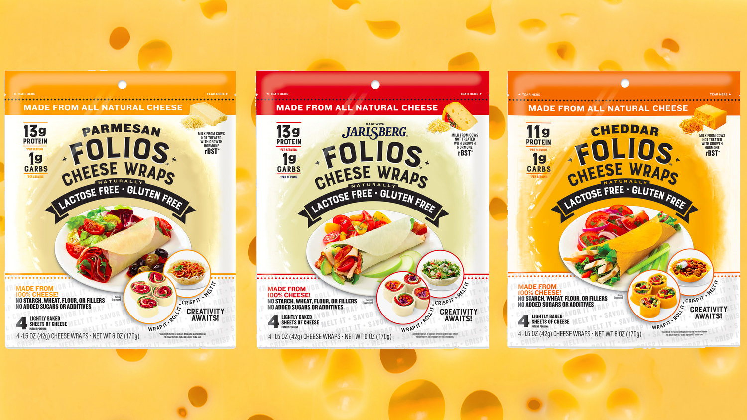 These new keto diet tortillas are made of 100% cheese