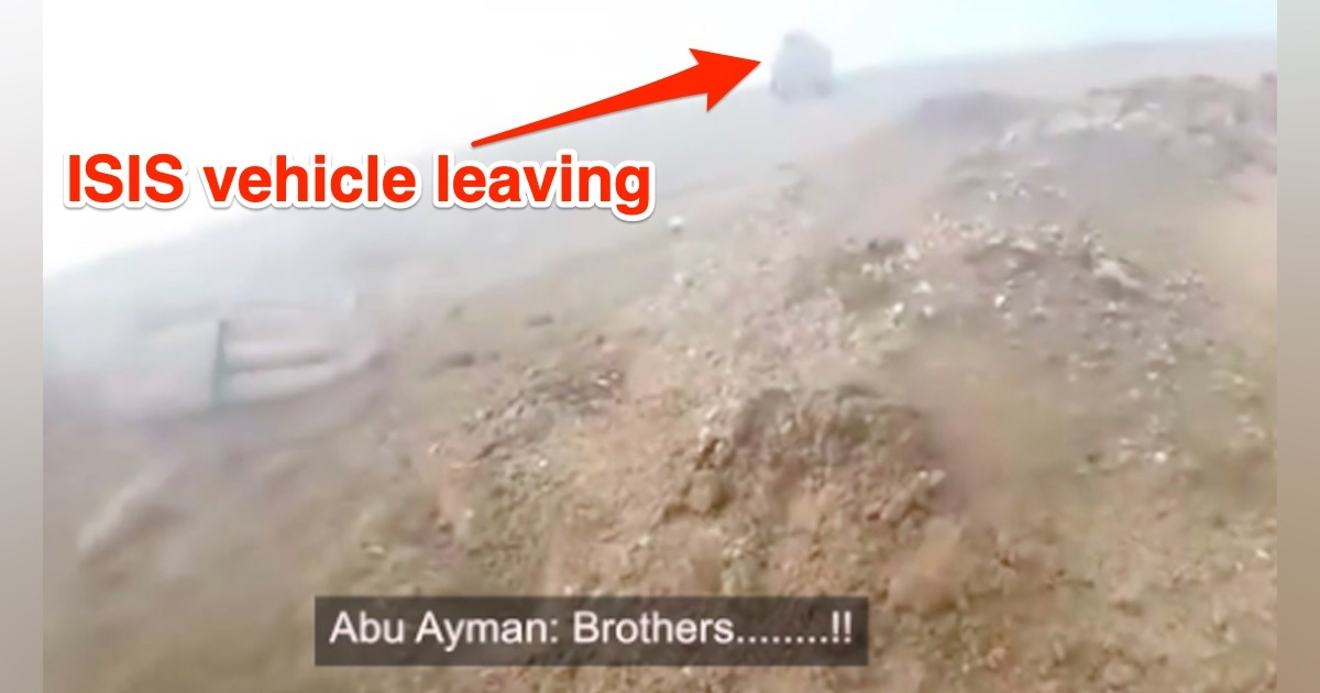 ISIS Commander Left For Dead By 'Brothers' After He's Shot - Task