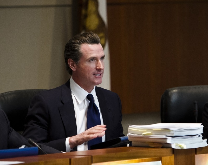 photo image Gavin Newsom Proclaims California Socialist Paradise!