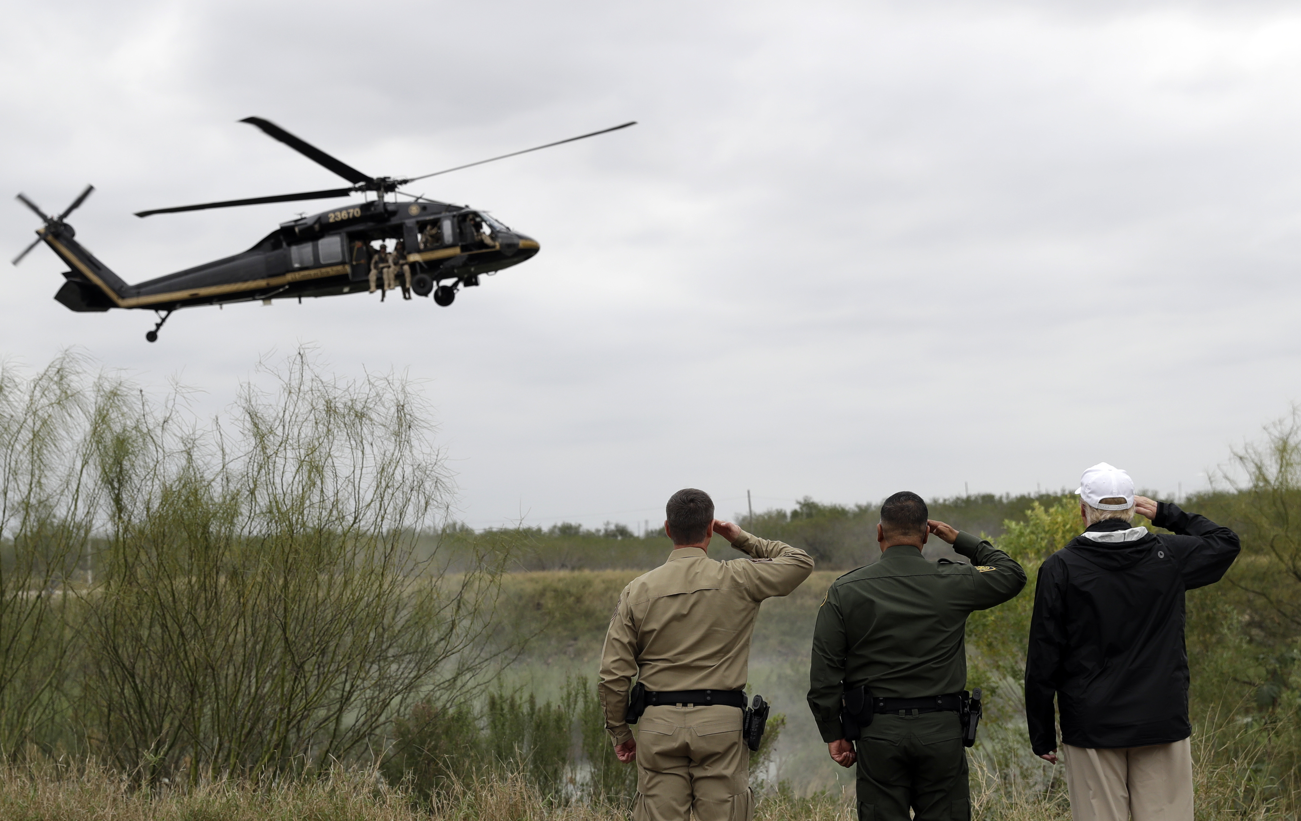 Border Security Workers Aren't Getting Paid Because Of