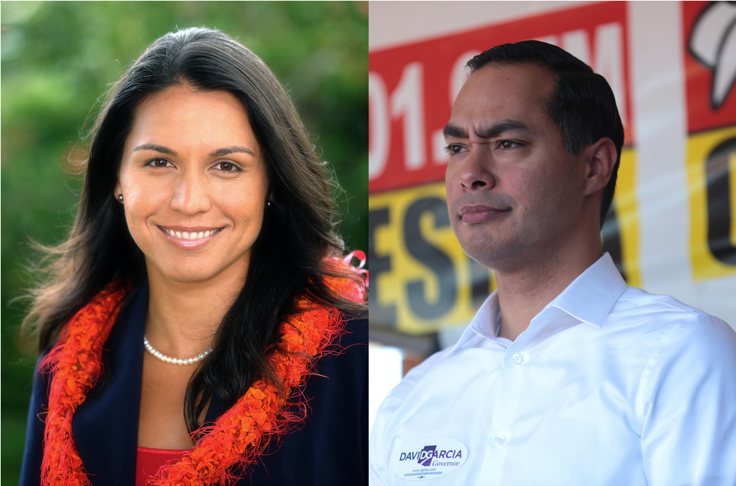 photo image Tulsi Gabbard And Julian Castro Are RUNNING!