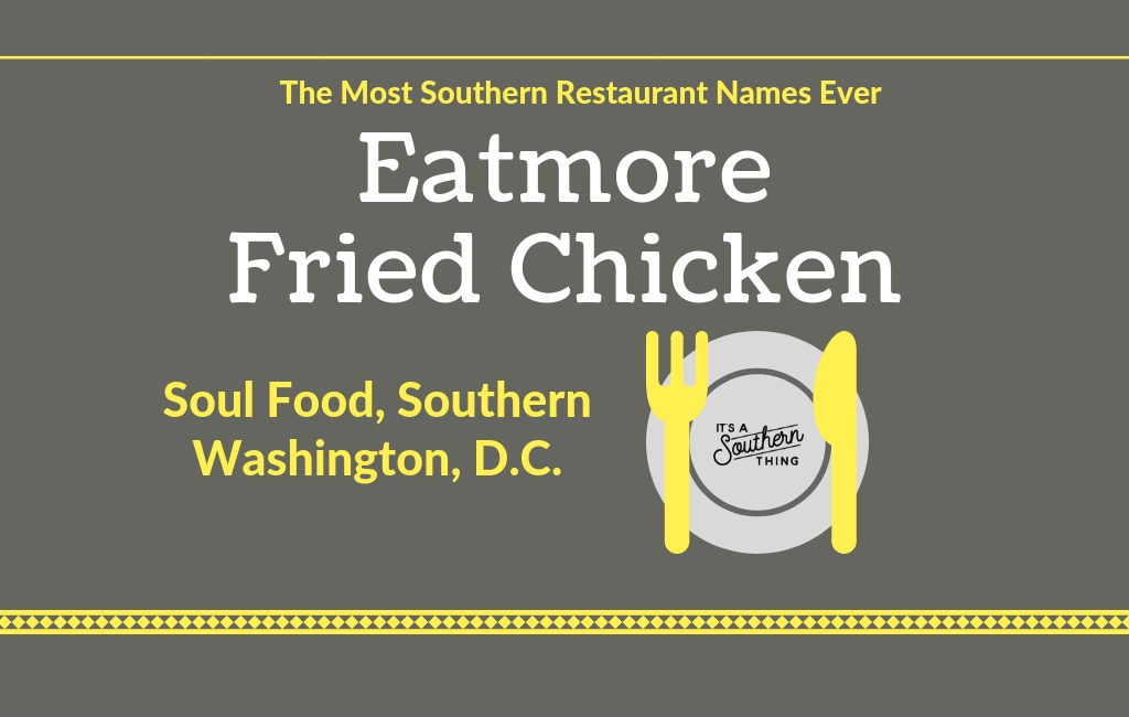 Are these the most Southern restaurant names ever? - It's a