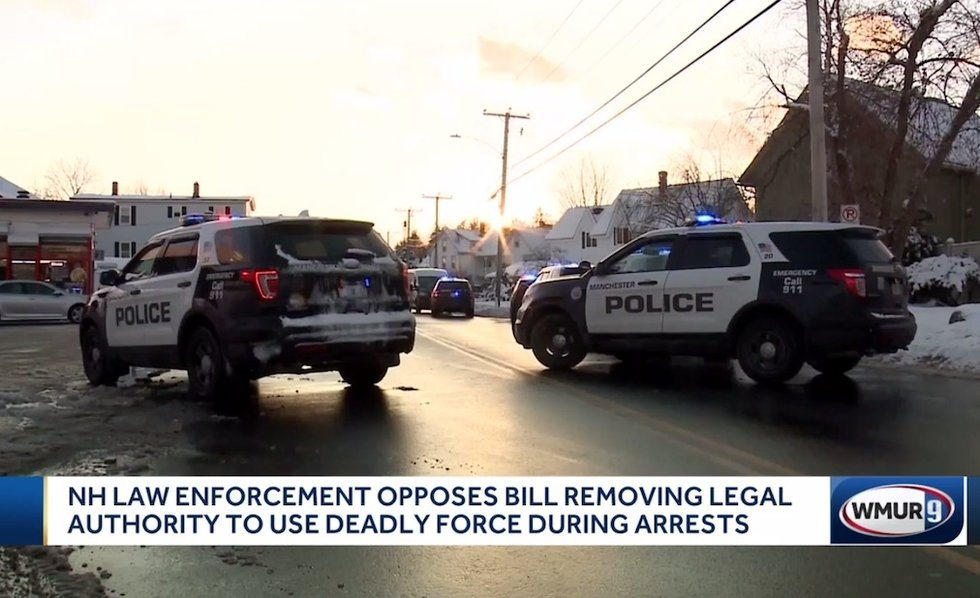 Police won't have authority to use deadly force in arrests if proposed state bill passes
