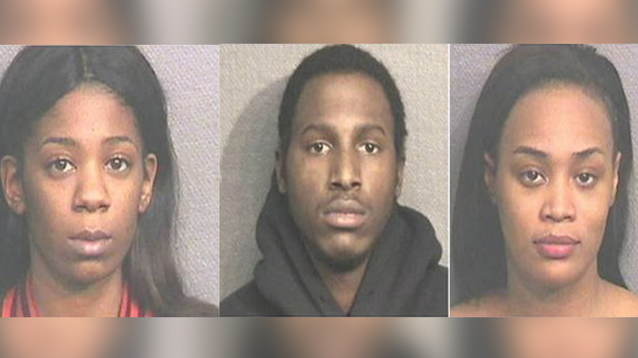 Three arrested in Houston after sex-trafficking victim grabs
