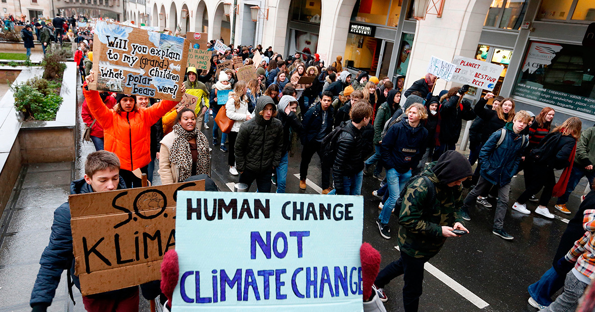 12,000+ Belgian Students Skip School to Demand Climate Action
