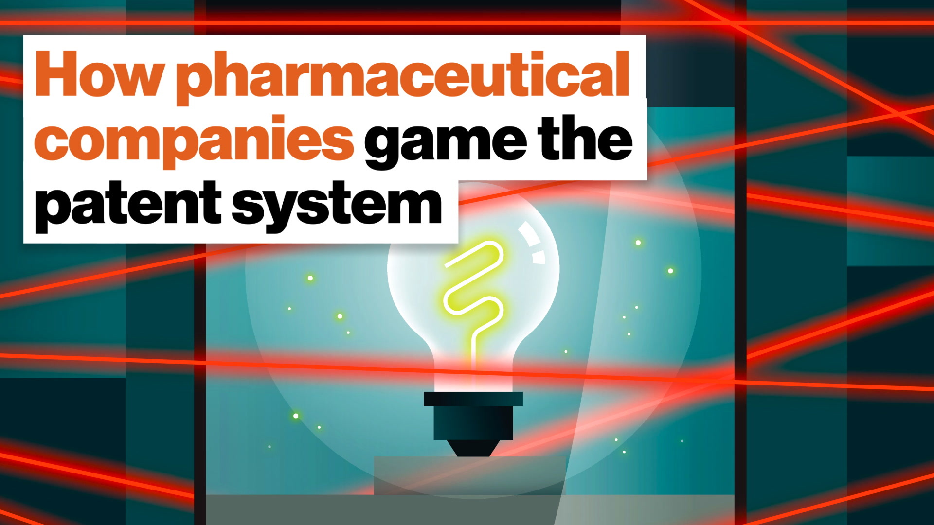How pharmaceutical companies game the patent system