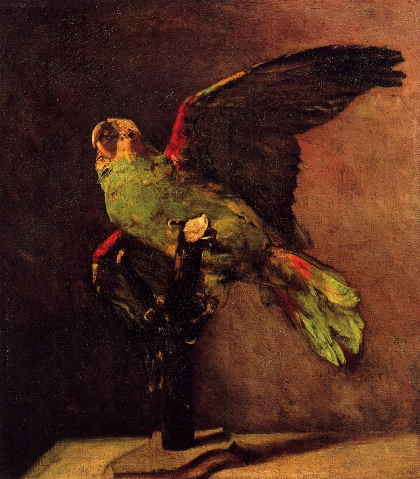 Originally Poe envisioned a parrot, not a raven