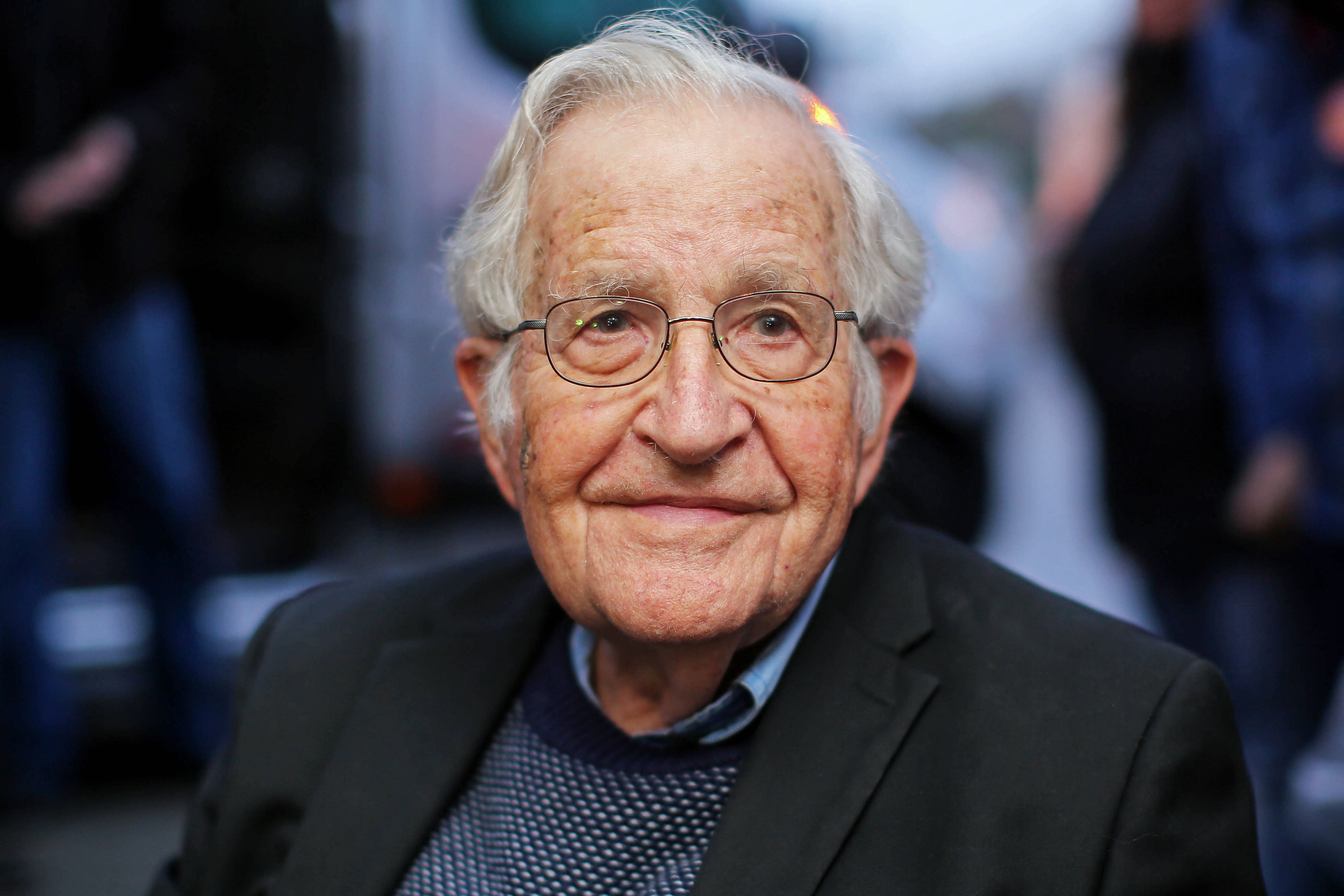Noam Chomsky: Writer, linguist... anarchist?