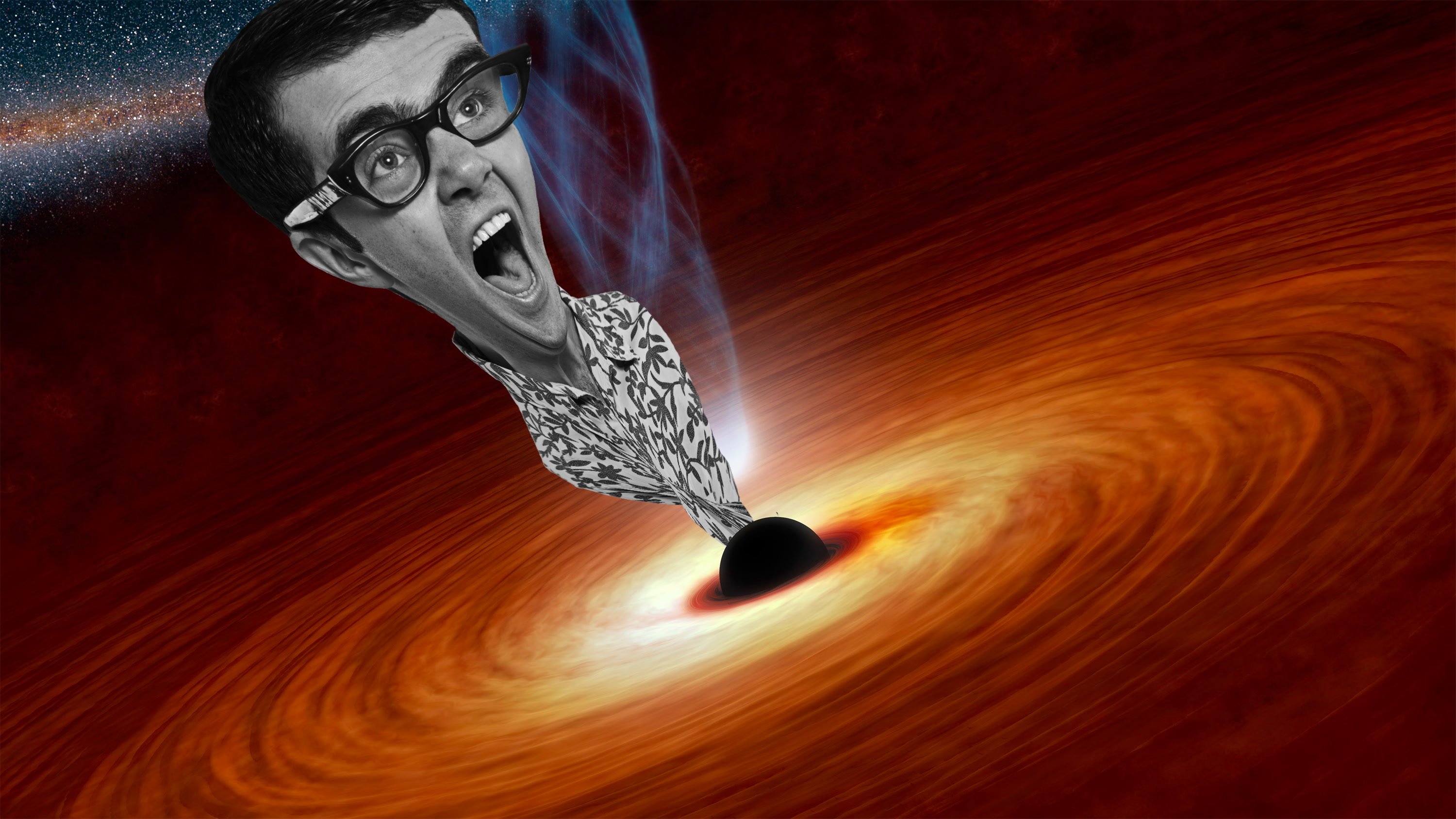 Black hole death: How extreme tidal forces turn humans into spaghetti