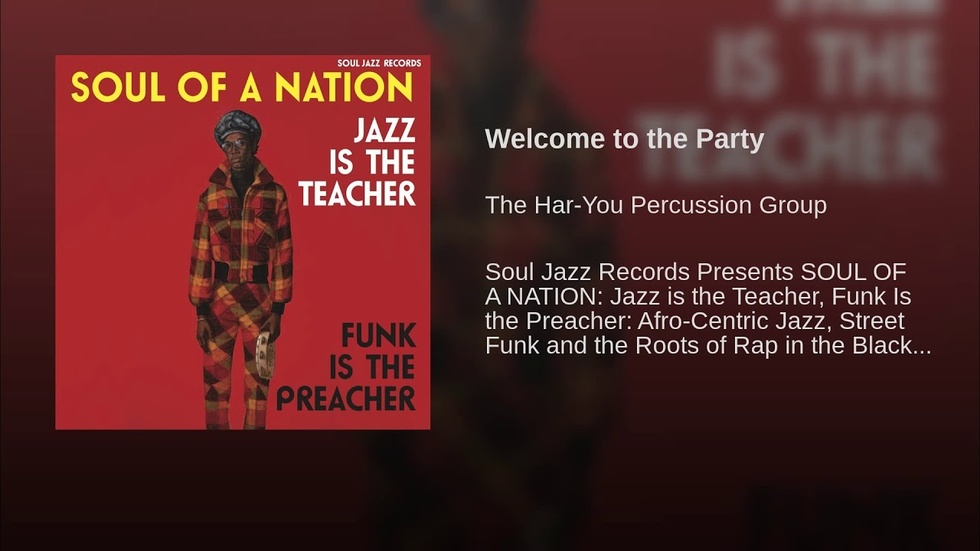 Various Artists Jazz Is The Teacher Funk Is The Preacher Popmatters