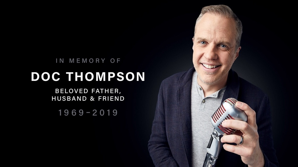 Partner Content - Farewell Doc Thompson, you will be sorely missed