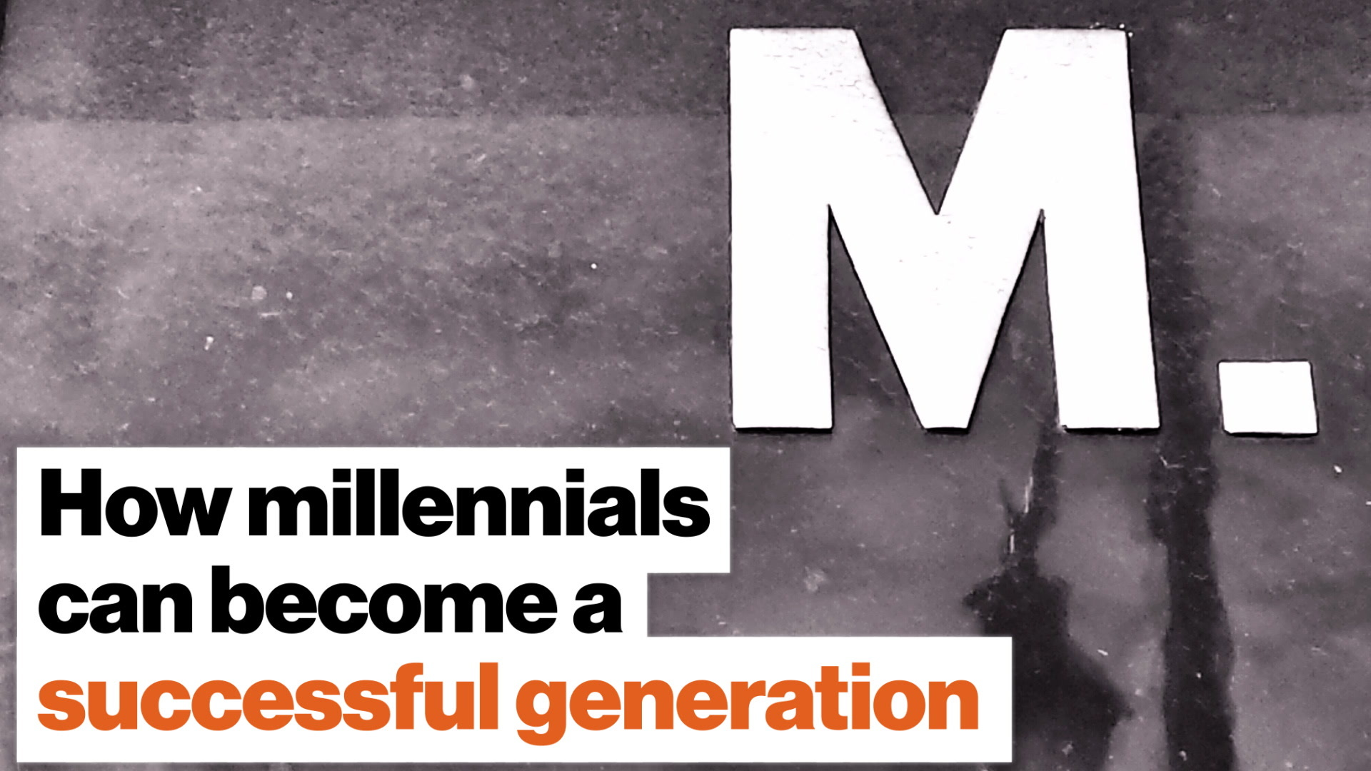 How millennials can become a successful generation