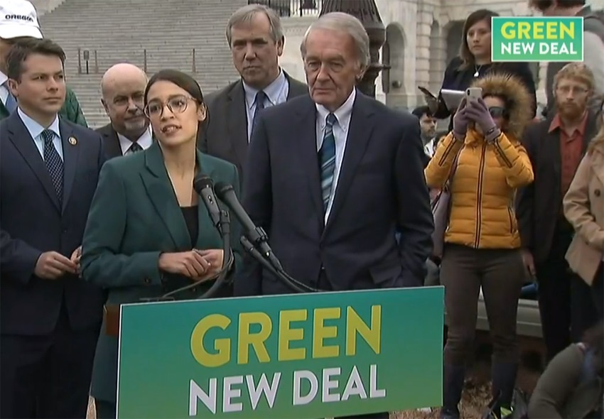 Green New Deal? ONE, PLEASE!