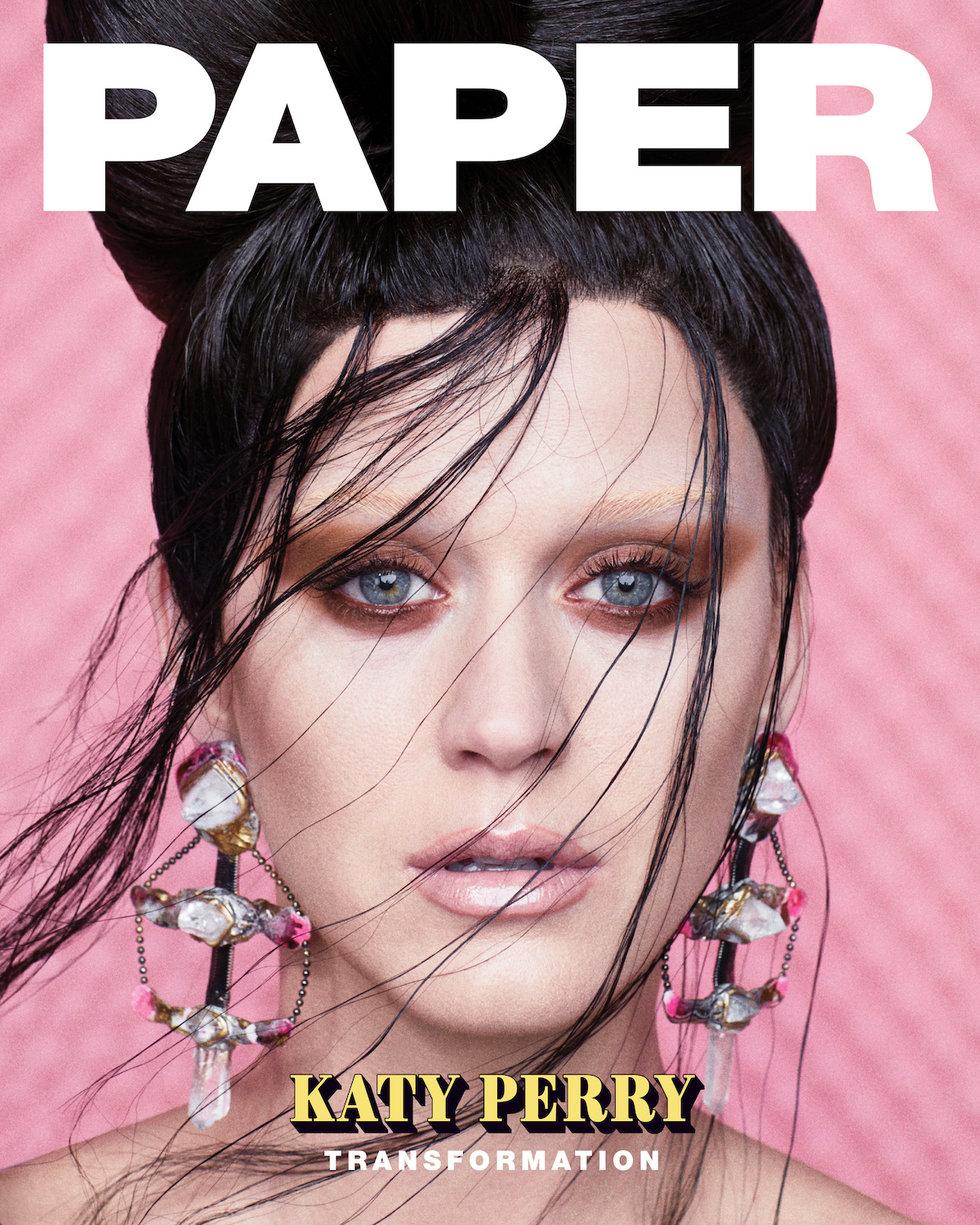 Katy Perry está INCRÍVEL na capa e recheio da PAPER Magazine; confira o photoshoot