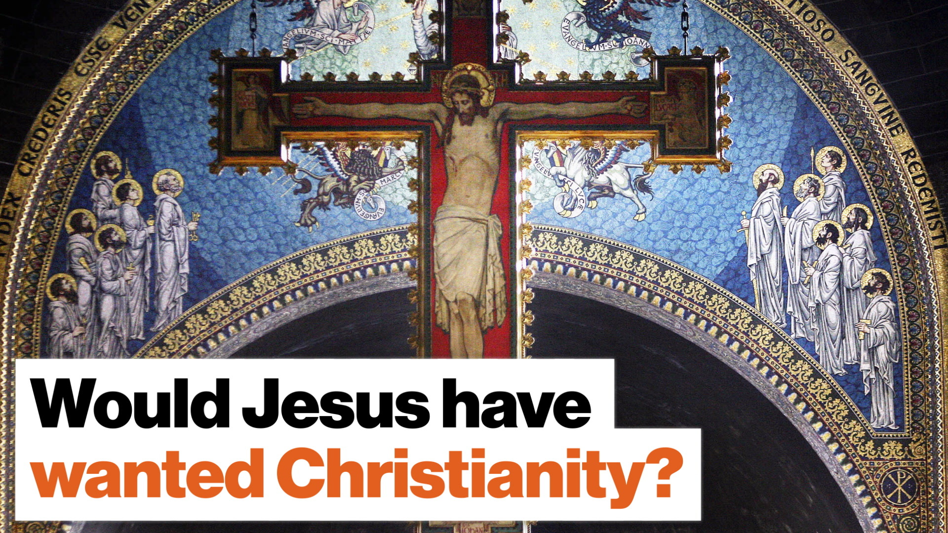 Would Jesus have wanted Christianity?