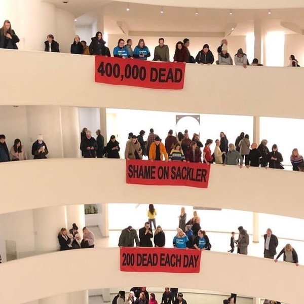 Nan Goldin Leads Protests at Guggenheim and the Met