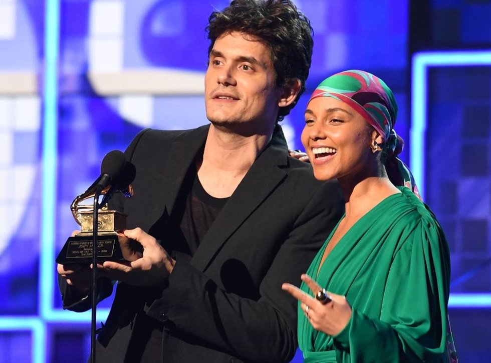 John Mayer and Alicia Keyes