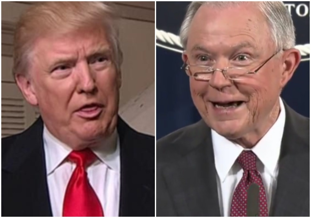 BREAKING: Trump Dumber Than Dry Dogsh*t, Jeff Sessions Racist As F*ck