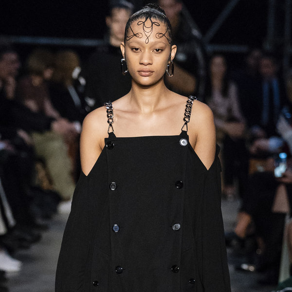 Riccardo Tisci Shows Baby Hairs at Burberry