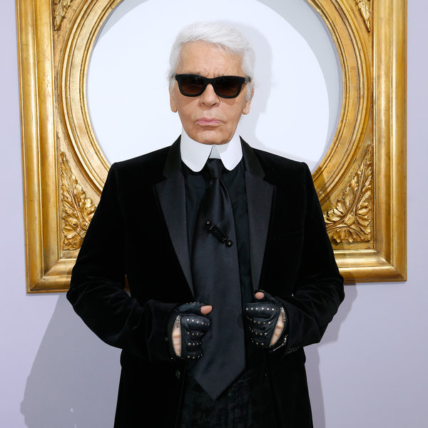 Karl Lagerfeld's Personal Uniform, Explained