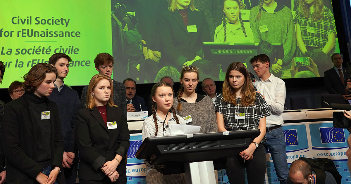Kicking Ass for Her Generation : Applause for 16-Year-Old Greta Thunberg as