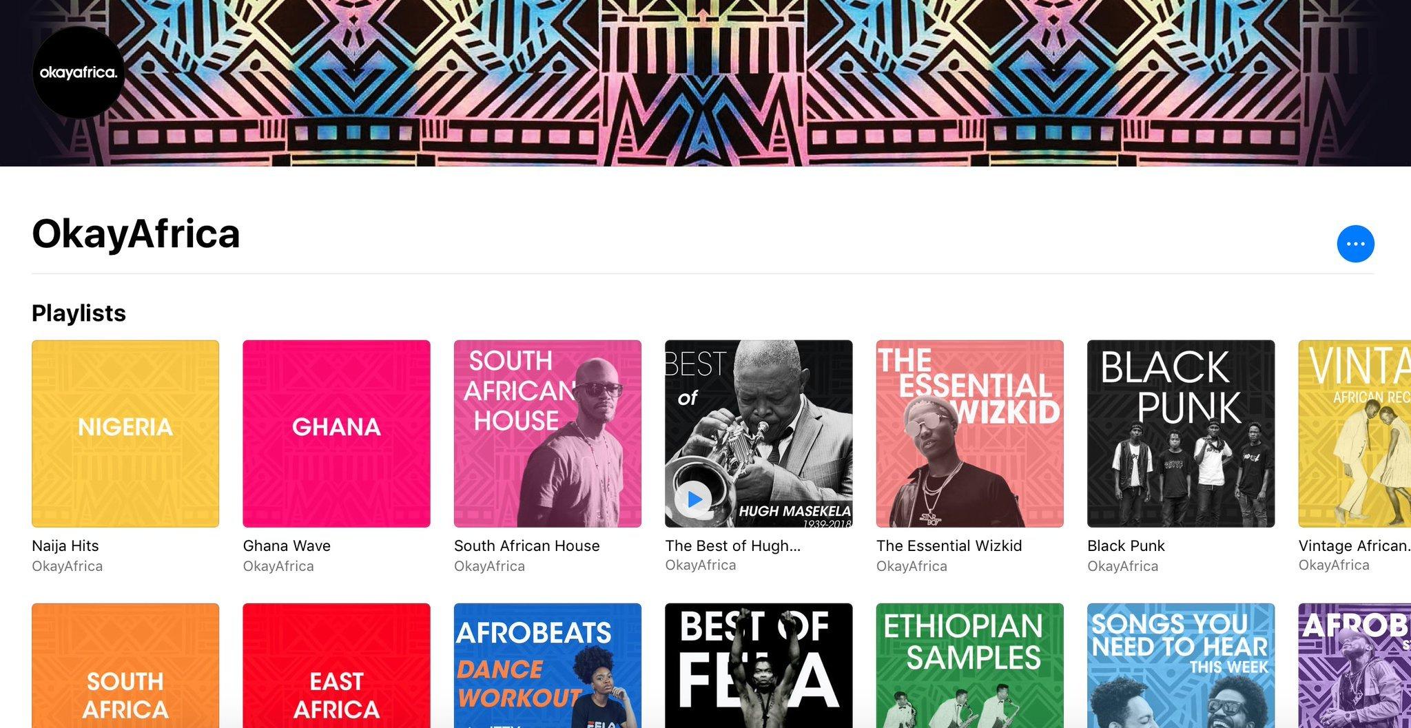 Listen to OkayAfrica's New Playlists On Spotify & Apple