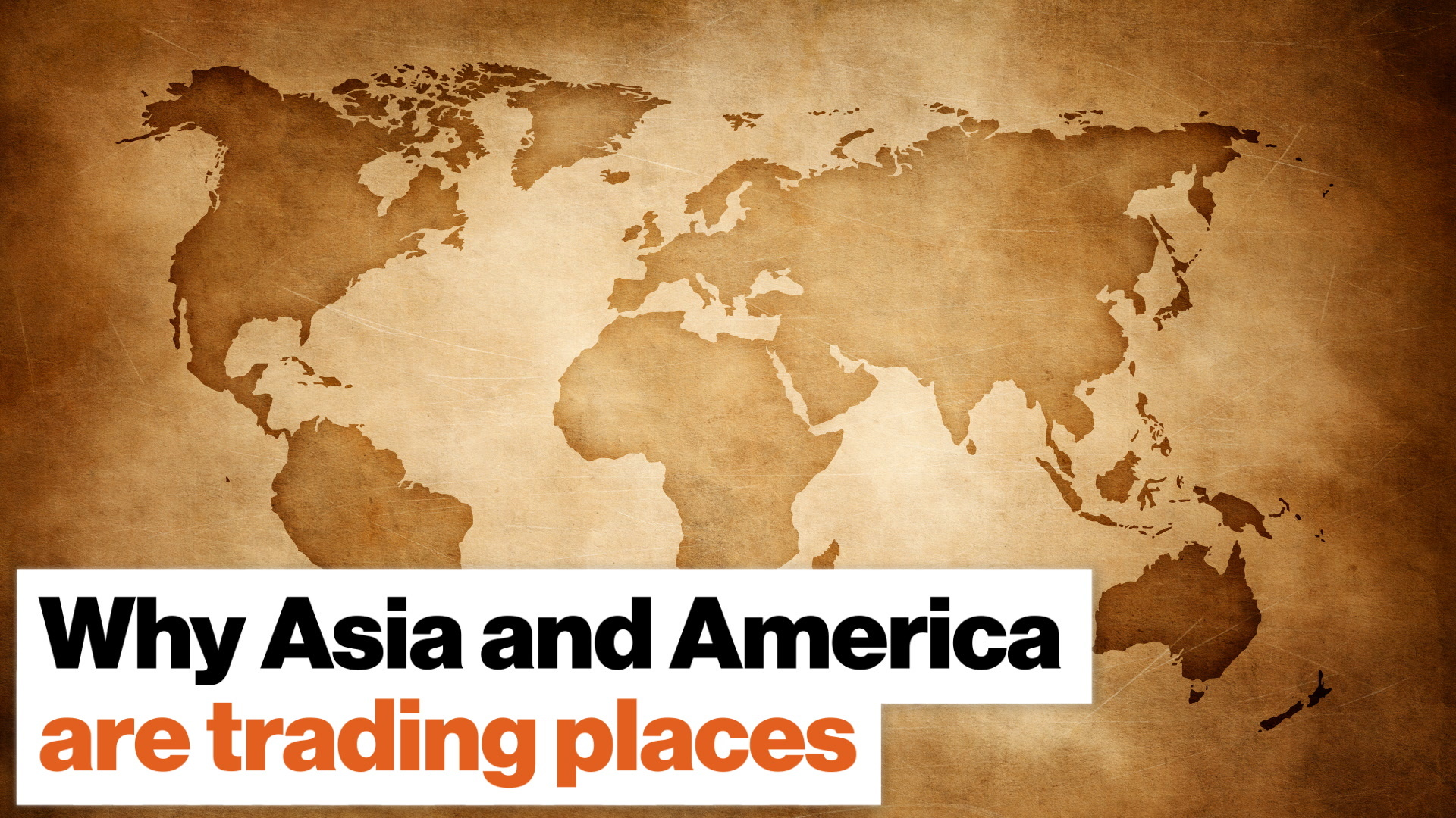 Why Asia and America are trading places