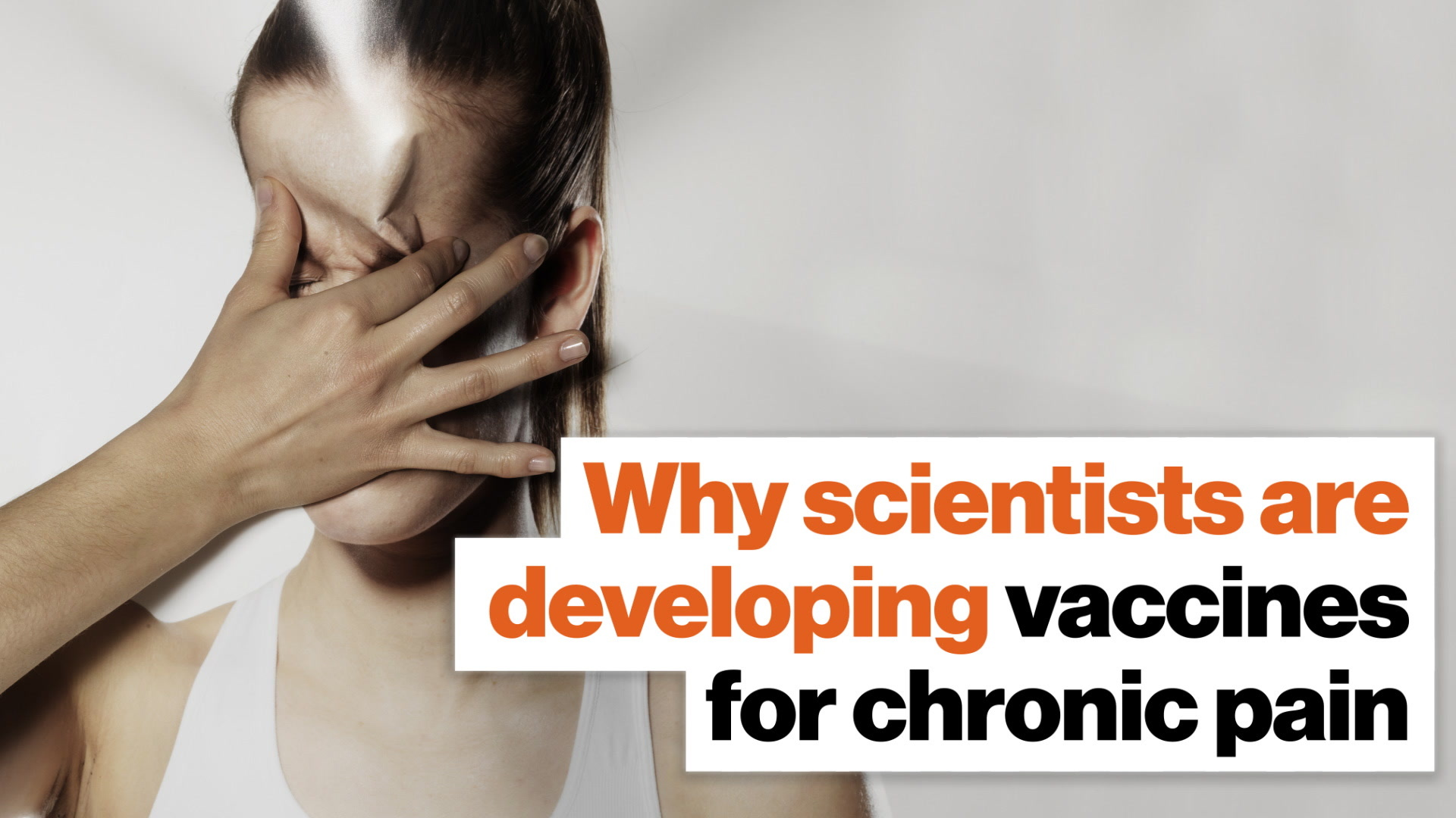 What if you were immune to chronic pain? Vaccines could make it happen.