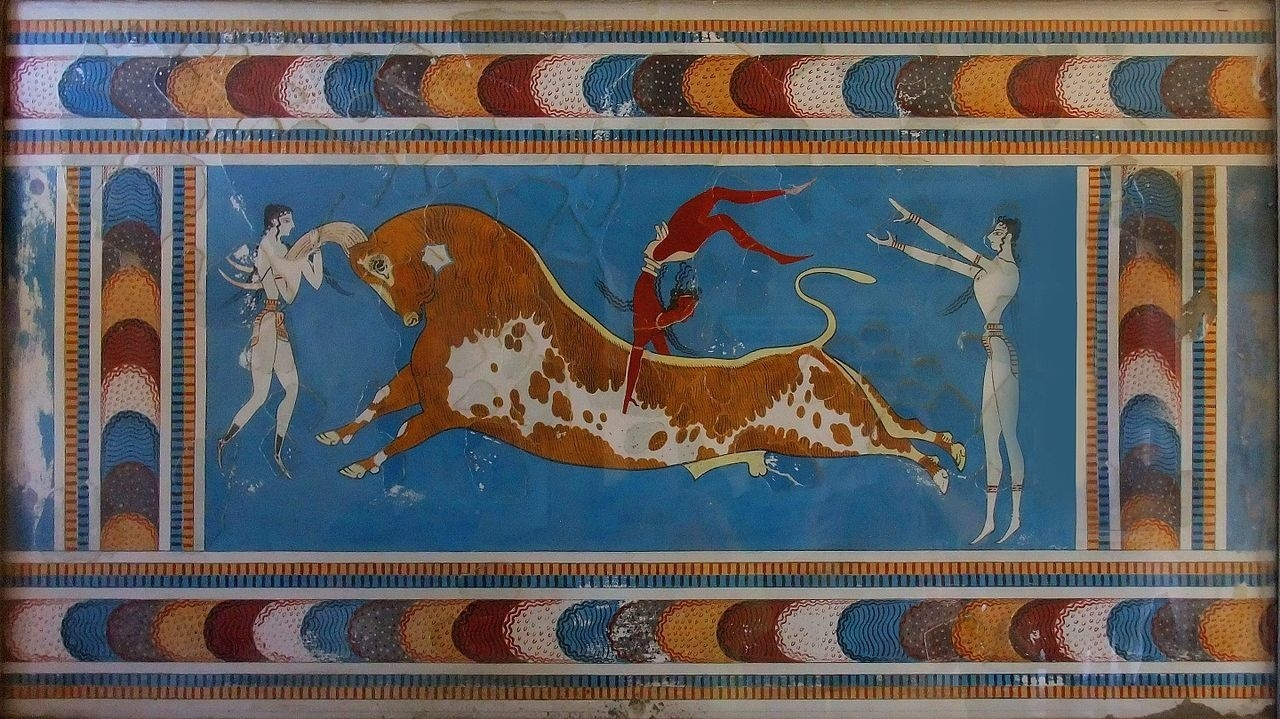 The mystery behind Minoan bull-leaping